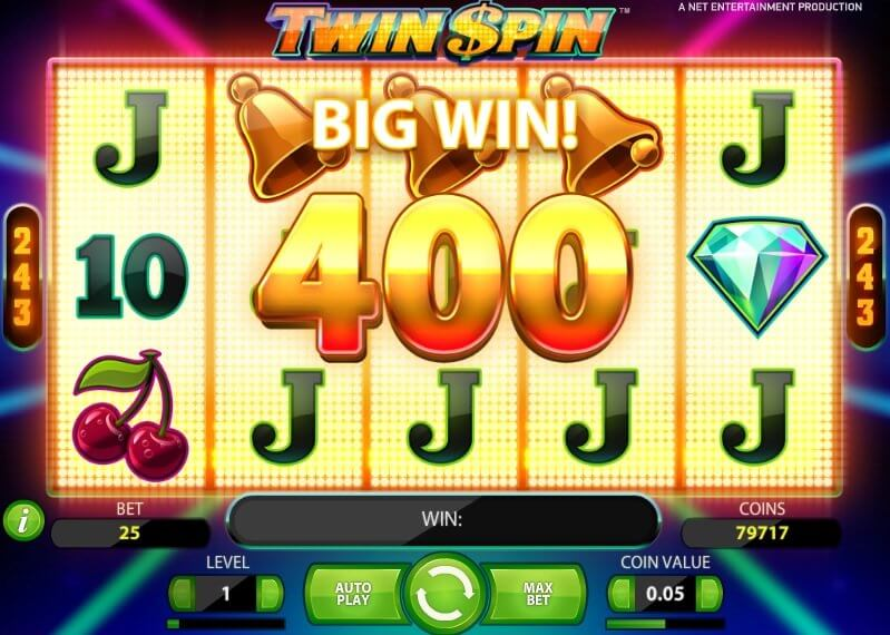 twin spin slot review