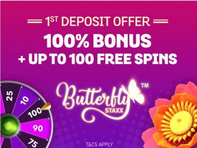Spin and Win new customer offer
