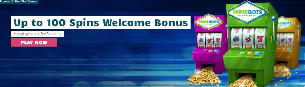 Primeslots new customer offer