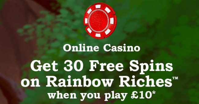 Rainbow Riches Casino Free Spins