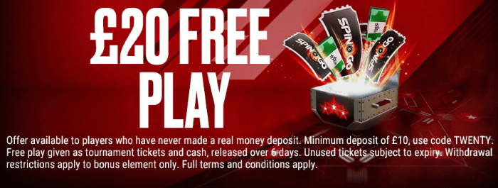 Pokerstars Sign Up Offer