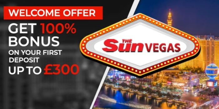 Sun Vegas Welcome Bonus