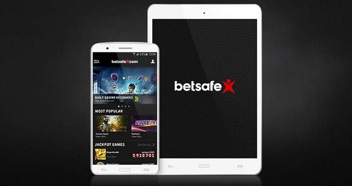 Betsafe iOS Android App